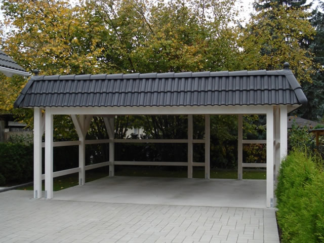 flachdach carport mhb carports. Black Bedroom Furniture Sets. Home Design Ideas