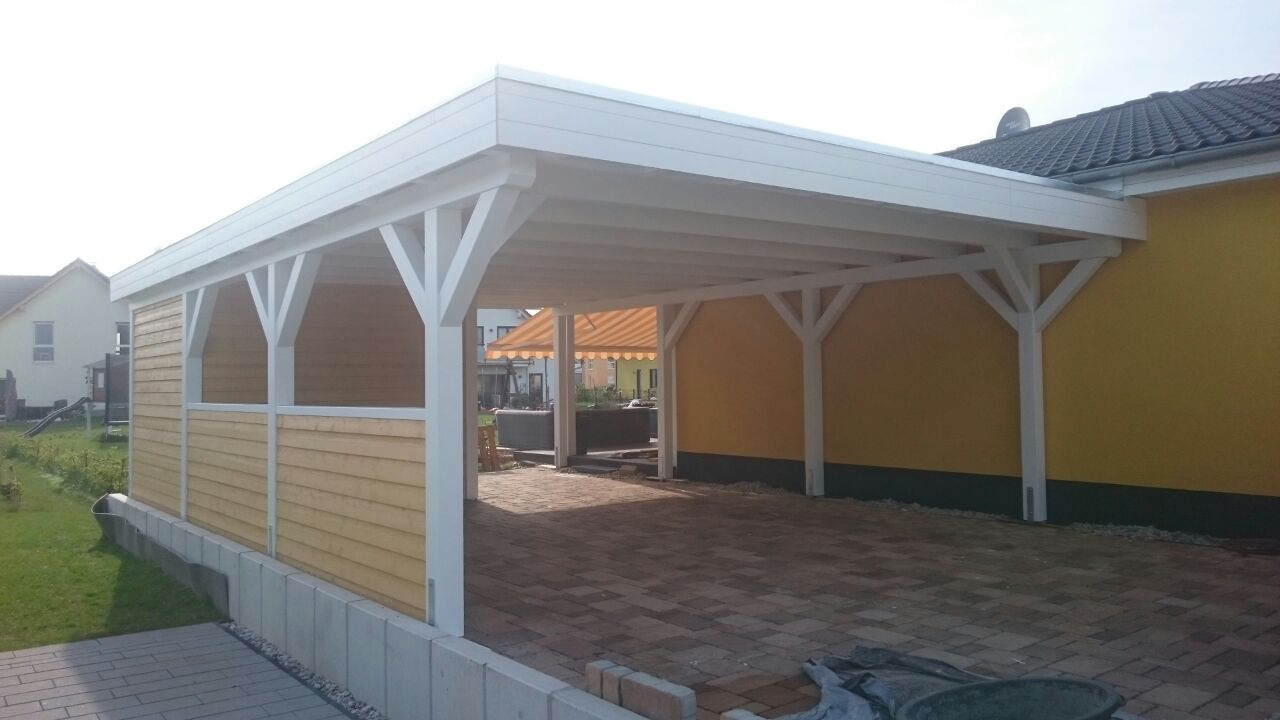 mhb carports holz carport berlin brandenburg deutschland. Black Bedroom Furniture Sets. Home Design Ideas