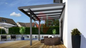 mhb carports holz carport terrassen berdachung vordach montage bausatz. Black Bedroom Furniture Sets. Home Design Ideas