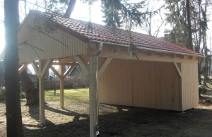 satteldach-carport-wald