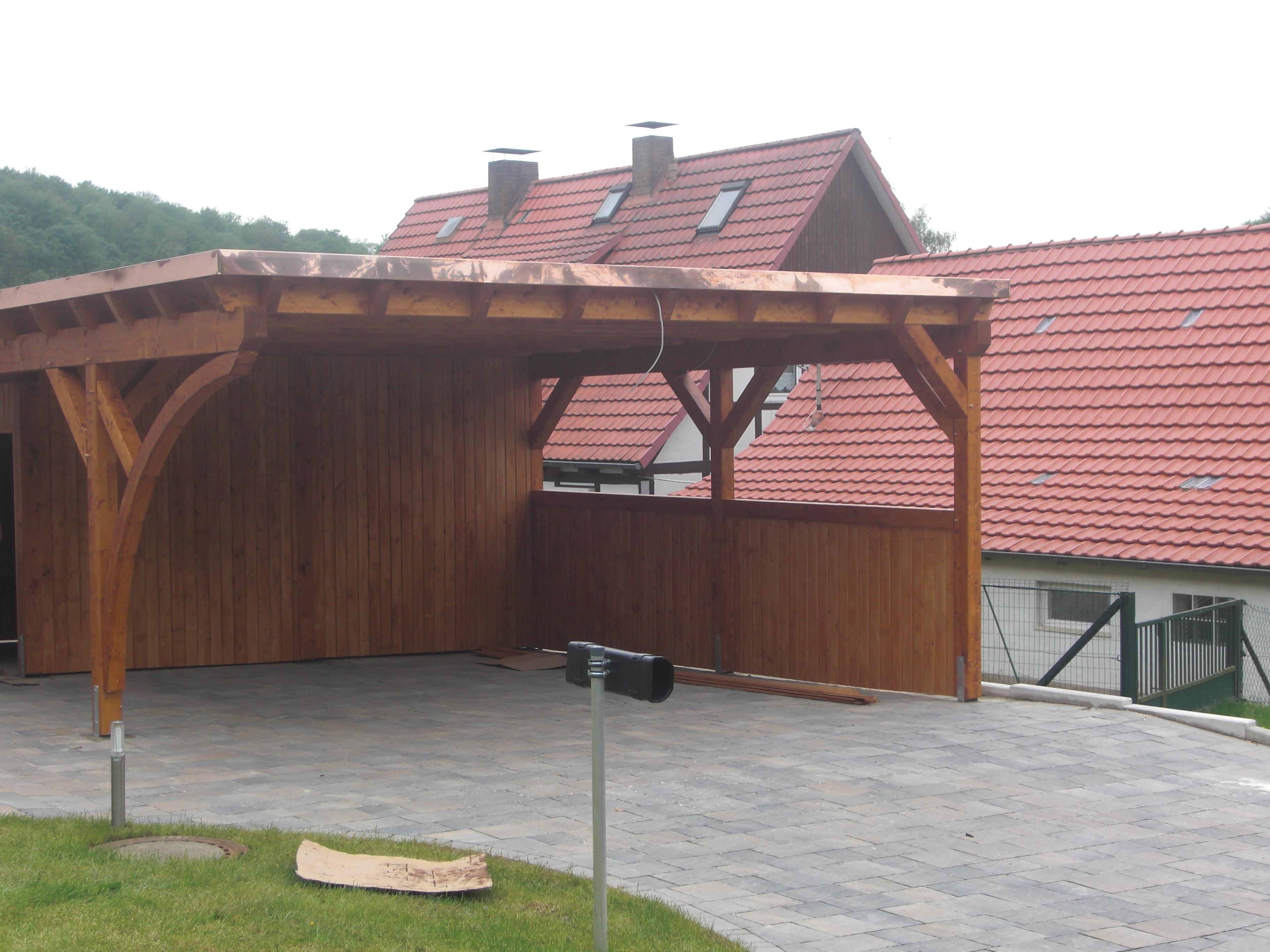 pultdach flachdach carport berlin brandenburg